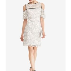 NWT American Living Cold Shoulder Lace Dress